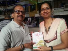 Book signing at Thakur Complex