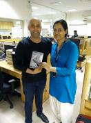 With Sharad Khare